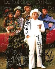 Dukes of Hazzard Original cast signed 8X10 photo picture poster autograph RP