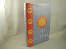 Terry Pratchett Thief of Time Discworld Novel 1st Ed 1st Printing SIGNED