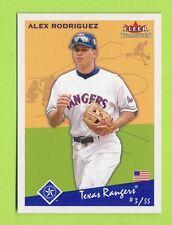 2002 Fleer Tradition - Alex Rodrigues (#274)  Texas Rangers