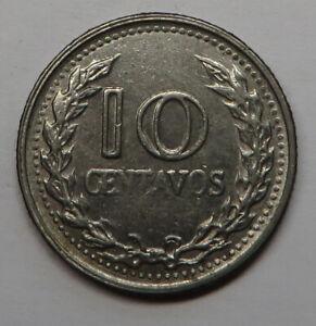 Colombia 10 Centavos 1973 Nickel Clad Steel KM#253