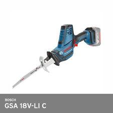 Bosch GSA 18V-LI C / Compact Cut Saw 21mm 5lbs 3050mn 3xBlade UPS *Bare Tool*
