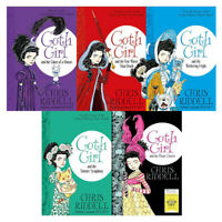 Chris Riddell Goth Girl & Fete Worse Than Death 5 Books Collection Set Brand New