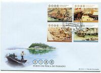 MACAU STAMP 2012 FISHING HARBOUR OF THE PAST FDC
