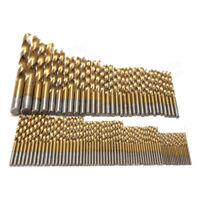 99PCS Set Brocas Taladro 1.5-10mm HSS Titanio Múltiple Metal Herramientas