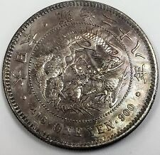 1895 416 One Yen 900, Year 28 Japanese Silver Coin
