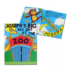 PERSONALISED Children's Book : Zoo Story Book : Boys Christmas, Birthday Gift