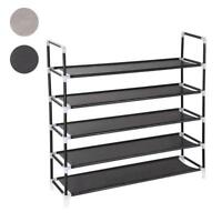 5 Tiers Shoe Rack Shoe Tower Cabinet Storage Organizer, Holds 25 Pair of Shoes