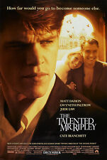 The Talented Mr. Ripley Movie Poster 2 Sided Original Nm 27x40 Matt Damon