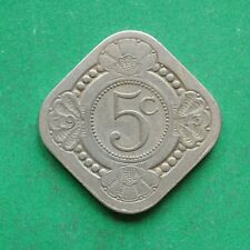 1913 Netherlands 5 Cents SNo50827