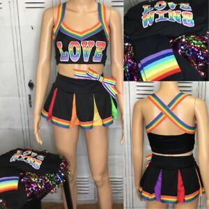 Cheerleading Uniform dolls kill cheerleading costume Adult XS