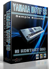 Yamaha Motif ES samples sounds Kontakt Instrument NKI - norCtrack vst-store