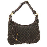 LOUIS VUITTON MANON PM SHOULDER BAG MONOGRAM MINI LIN M95621 AUTH A52772