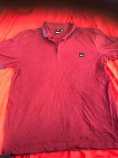 Mens Bench Polo Shirt  Size Xl