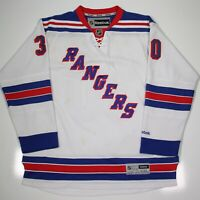 Reebok Official New York Rangers Sewn Lace Henrik Lundqvist Hockey Jersey XXL