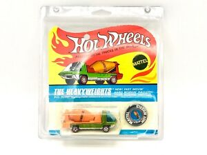 Hot Wheels Redline Heavyweights Cement Mixer in blister pack light green