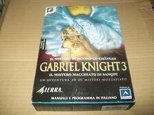GABRIEL KNIGHT 3 BOXATO ITALIANO CONTOVENDITA