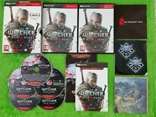 pc WITCHER III 3 The WILD HUNT REGION FREE PAL ENGLISH UK (READ DESCRIPTION)