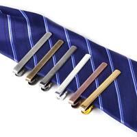 New Fashion Men Metal Simple Necktie Tie Bar Clasp Clip Clamp Formal Dress