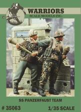 Warriors 1:35 Waffen SS Panzerfaust Team 2 Resin Figures Kit #35063