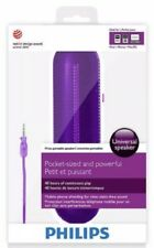 Stereo Sound on the Go, Purple Philips Portable Speaker-Pocket-sized & Powerful