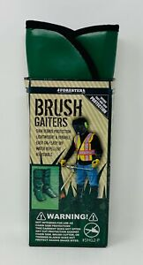 Forester Brush Gaiters Trimmer Foot Shin Debris Guard Protection 1 Pair~ #SHG2-P