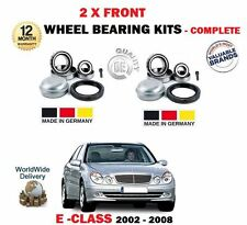 FOR MERCEDES E320 CDI E400 CDI E420 CDI 2002-2008 2 X FRONT WHEEL BEARING KITS