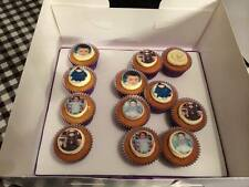 Photo Picture Edible Cupcake Fairy Cake ICING Toppers x 24