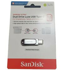 SanDisk Ultra Dual Drive Luxe USB Type-C 64GB USB3.1 HIGH SPEED NEW