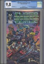 Cyberforce Limited Series #1 CGC 9.8 1992 Image/Top Cow Rare Green Alt. Cover