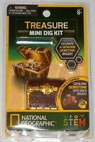 National Geographic Carded Treasure Mini Dig Kit - BNIB - 80472 -