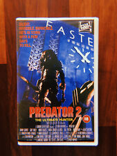 PREDATOR 2 VHS BIG BOX EX RENTAL