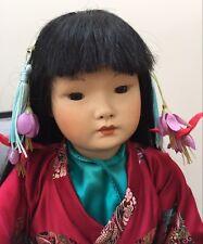 "Rare German Simon & Halbig #1329 Jb Scd 11/81 Japanese Asian Oriental Doll 22"""