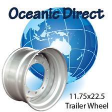 Truck - Trailer Silver Super Single Wheel Rim 11.75x22.5 10-335 0 offset