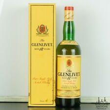THE GLENLIVET PURE SINGLE MALT SCOTCH WHISKY 12 YEARS OLD ANNI '80 75 CL 43°