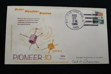 SPACE COVER 1969 HAND CANCEL PIONEER 10 SOLAR WEATHER STATION LAU SWANSON (3251)