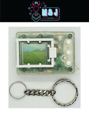 BanDai Digimon 1997 Transparent Clear With White Tested Rare -(Aussie Seller)
