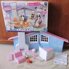 MOXIE WINTER MAGIC SNOW CABIN Furniture-MONSTER HIGH ABBEY BOMINABLE DOLL HOUSE