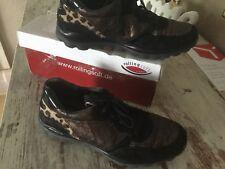 Gabor rollingsoft Sneaker  Gr.5.5(38.5) Schwarz Leo Lack