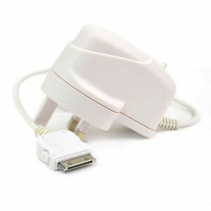 Mains Wall Plug Charger Adapter fits iPhone 4S 4 3GS iPad 1 2 3 iPod Touch 4 3 2