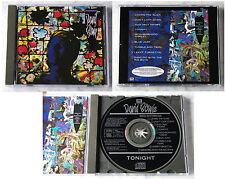 DAVID BOWIE Tonight .. 1984 German EMI America CD No Barcode