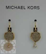 Michael Kors Earrings, Beyond Brilliant Gold-Tone Earrings MKJ6763, New