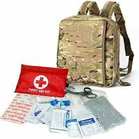 Military First Aid Kit Bag Medical Operator Tactical Backpack Multicam