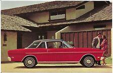 1969 Ford Falcon Futura Sports Coupe Automobile Advertising Postcard