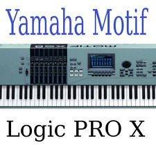 Yamaha Motif ~ 35GB of Logic Pro X SAMPLES ~ Over 30,000 Samples