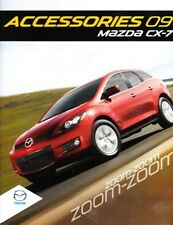 2009 09 Mazda CX-7 CX7  Accessories original brochure