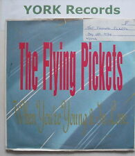 FLYING PICKETS - When You're Young & In Love - Ex 7""
