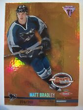 2001-02 TITANIUM DRAFT DAY EDITION MATT BRADLEY #164 SHARKS    BOX 52