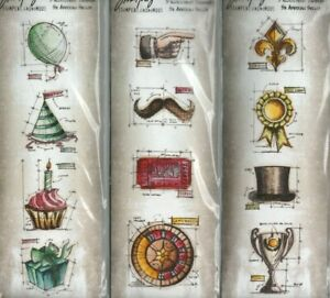 Tim Holtz Stampers Anonymous stamp sets~VARIETIES~Really Nice!!  Quick Ship!!
