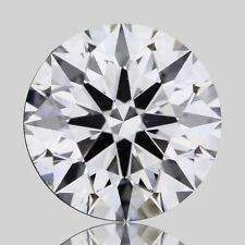 IGI Certified .71 G VS2  Round Excellent Cut  Lab Grown Synthetic Diamond
