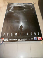 AFFICHE PROMETHEUS 4x6 ft Bus Shelter Movie Poster Original 2012